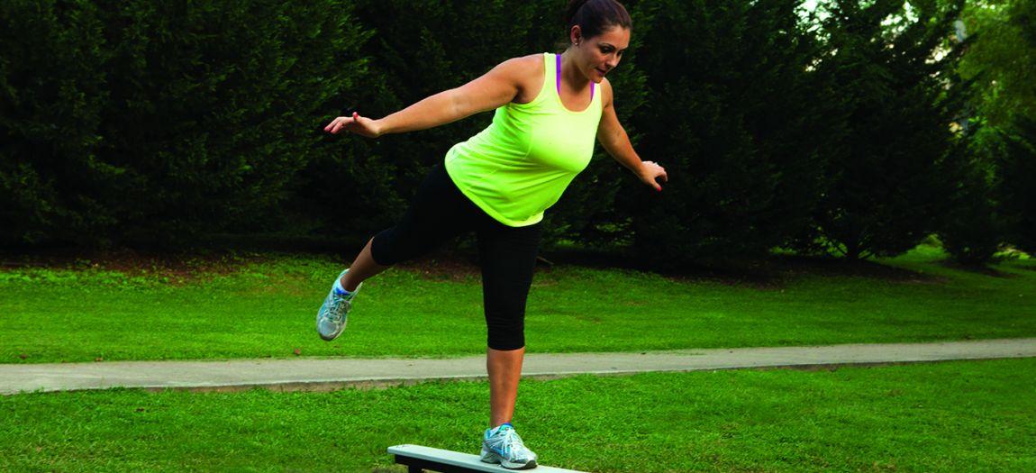 Up176 Balance Plank Station Lifestyle