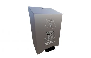 Complete Large Hand Sanitizer Station Add-On (Hand Pump Style Dispenser)