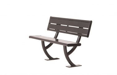 Hartford Bench with Back
