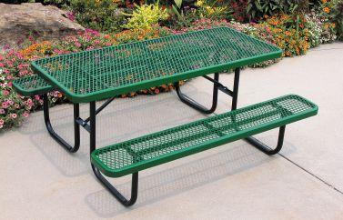 Heavy-Duty Rectangular Table