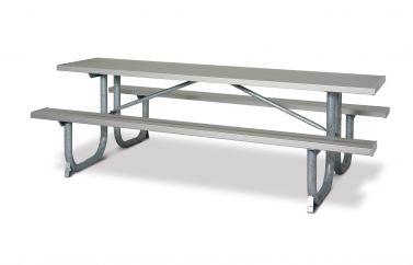 Extra Heavy-Duty Rectangular Aluminum Table