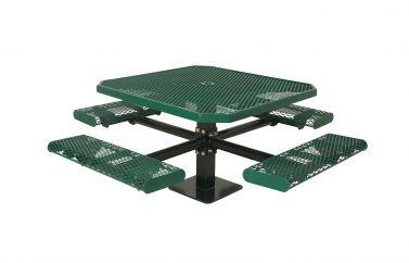 "46"" Single Pedestal Table"