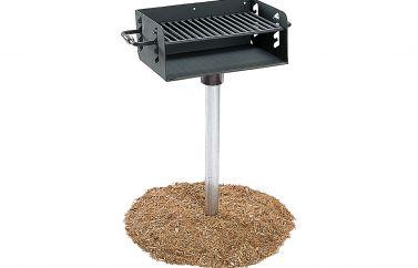 Rotating Pedestal Grill