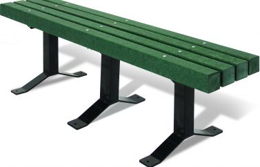 Recycled Bench without Back
