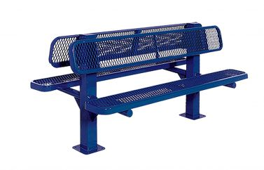 Double-Sided Bollard Style Bench