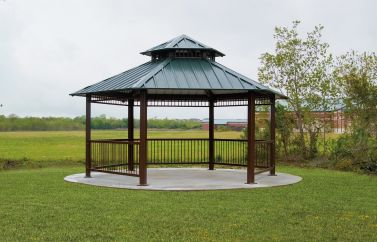 2-Tier Hexagon Shelter