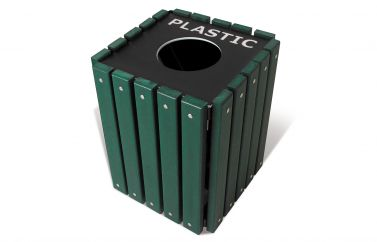 Recycling Single Receptacle