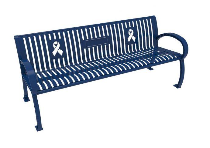 974 Memorial Bench Ultra Blue Pq