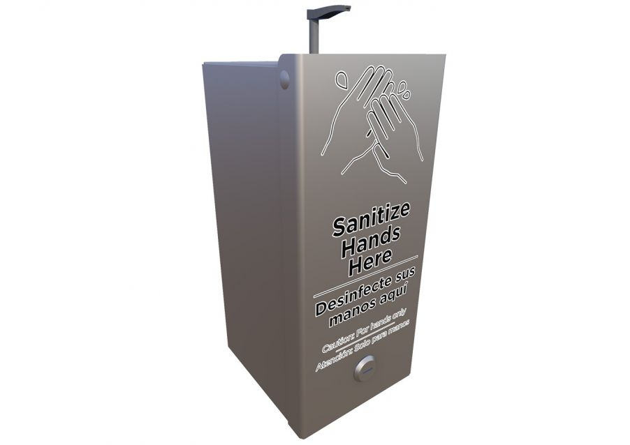 Complete Small Hand Sanitizer Station Add On (Sanitizer Included)