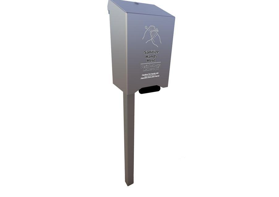 Complete Large Hand Sanitizer Station (Hand Pump Style Dispenser)