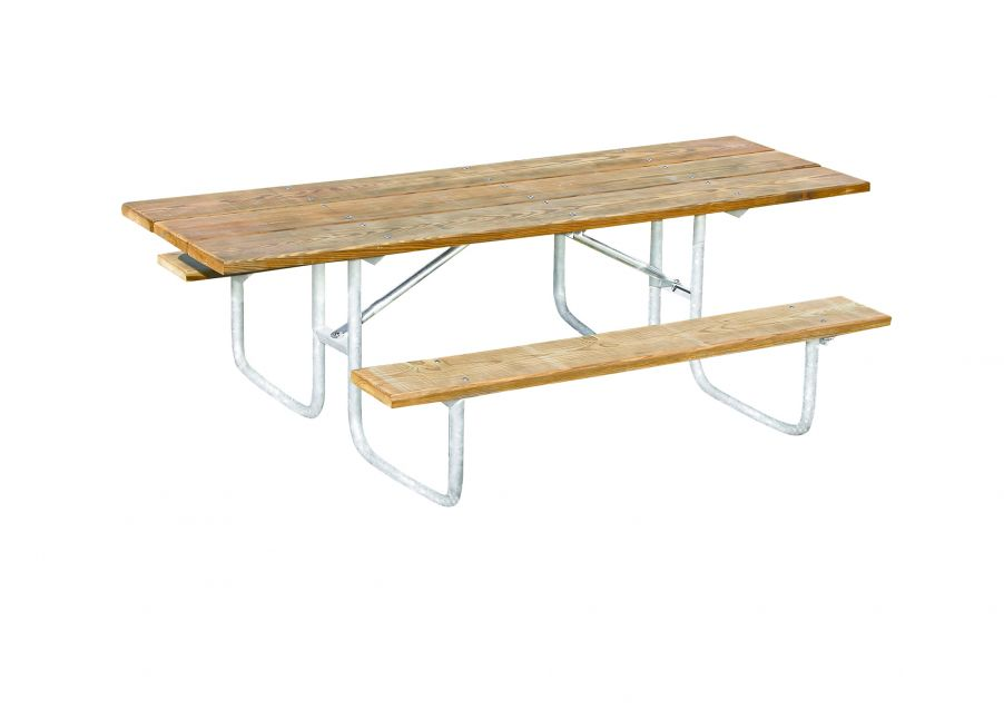 Natural Heavy-Duty ADA Accessible Rectangular Table