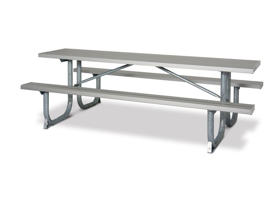 Extra Heavy-Duty Rectangular Aluminum Table