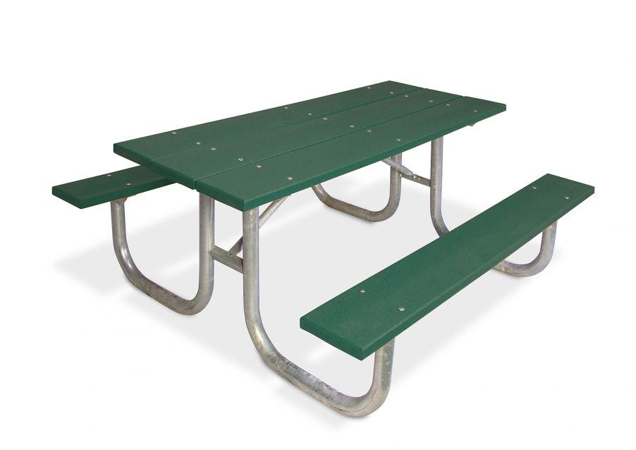 Natural Extra Heavy-Duty Rectangular Table