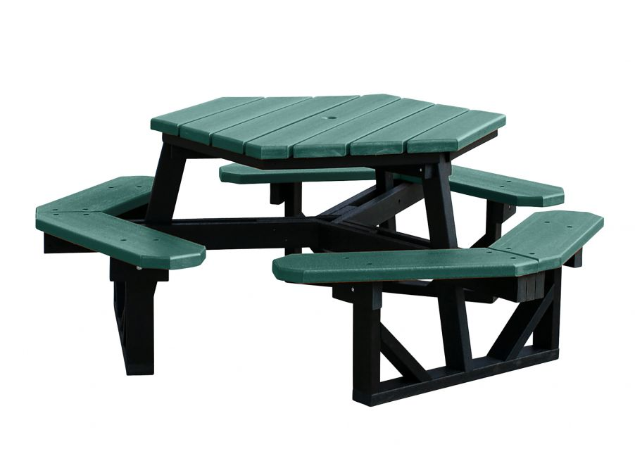 100% Recycled Picnic Table