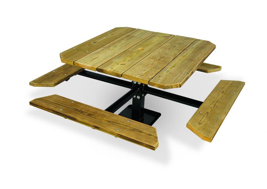 "48"" Single Pedestal Table"