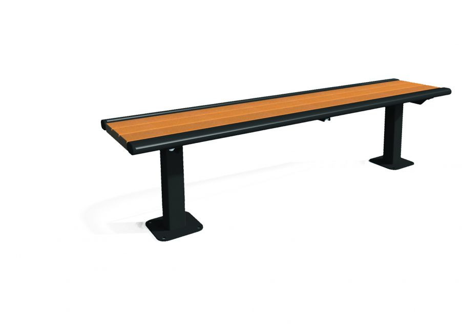 Richmond Recycled Bench without Back