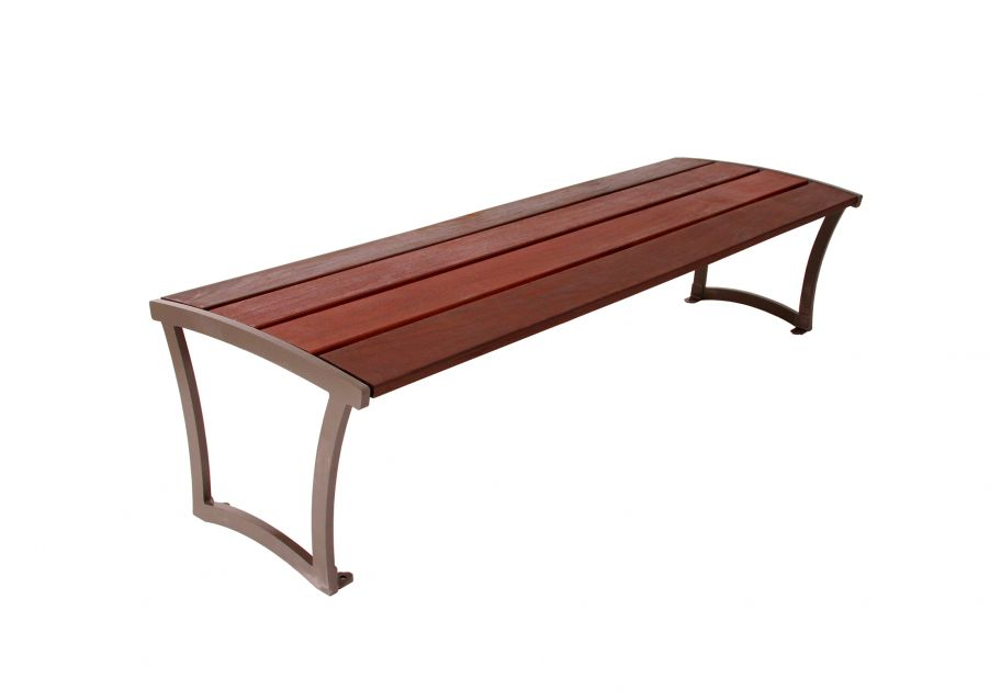 Madison Bench without Back - Ipe Wood