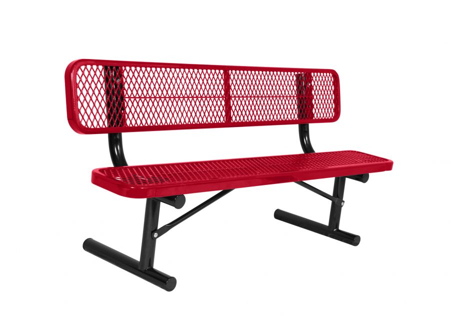 Extra Heavy-Duty Bench with Back
