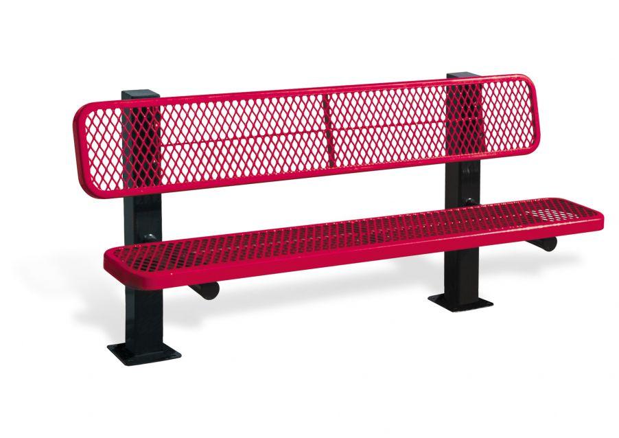 Bollard Style Bench